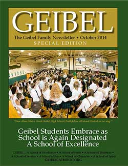 Special Geibel Fall 2014 Newsletter